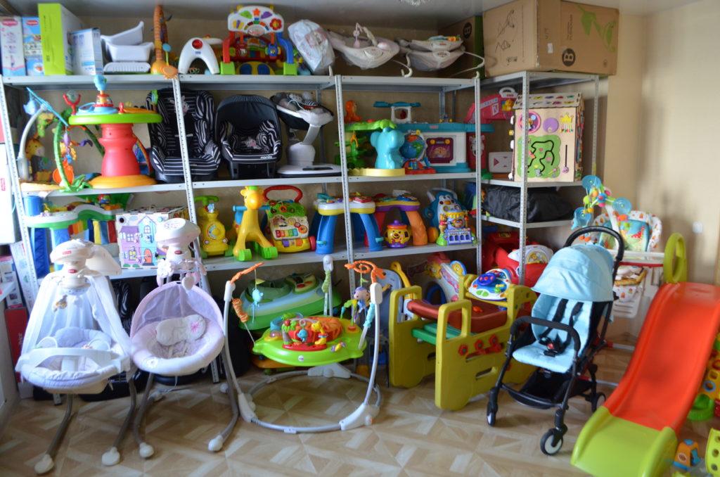 детские товары напрокат