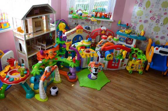 прокат игрушек малышам