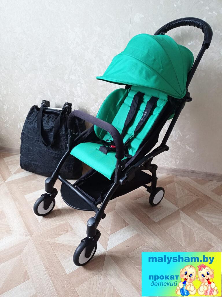 коляска yoya зелёная